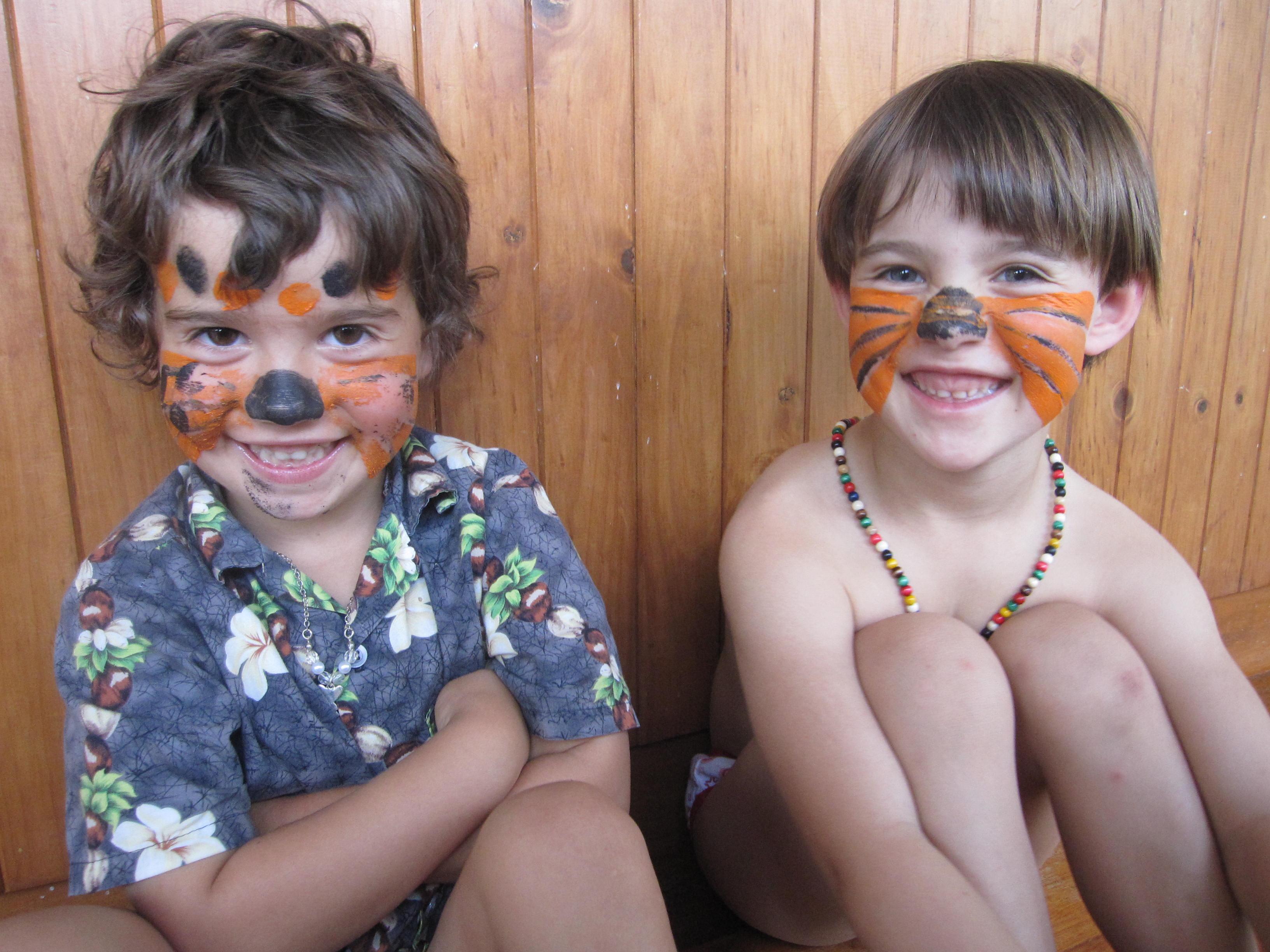 A tiger and a cheeta