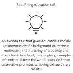 Education-talk